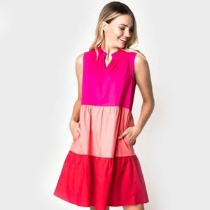Gibson X Hi Sugarplum sleeveless dress, Medium